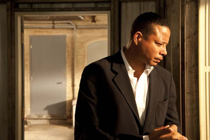 Terrence Howard as Hollis in ``The Ledge.''