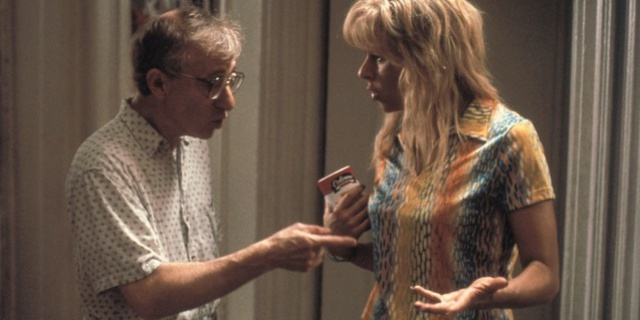 Woody Allen and Tracey Ullman in Small Time Crooks.