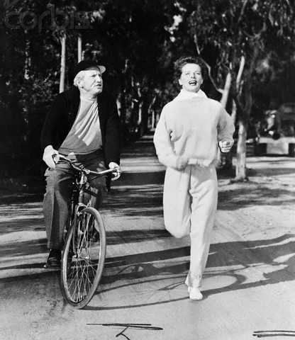 Hepburn and Tracy in