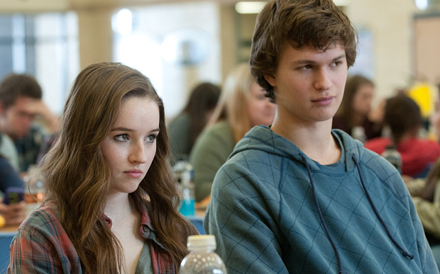 FILM TITLE: Men Women and Children ... Men Women & Children .... Men, Women and Children ... Men, Women & Children ... 2014 ...Left to right: Kaitlyn Dever plays Brandy Beltmeyer and Ansel Elgort plays Tim Mooney in MEN, WOMEN & CHILDREN, from Paramount Pictures and Chocolate Milk Pictures. PBD-01406