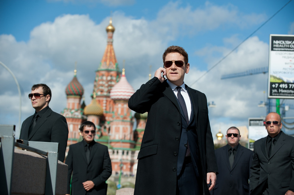 Kenneth Branagh (center) is Viktor Cherevin in JACK RYAN: SHADOW RECRUIT, from Paramount Pictures and Skydance Productions. JR-02811