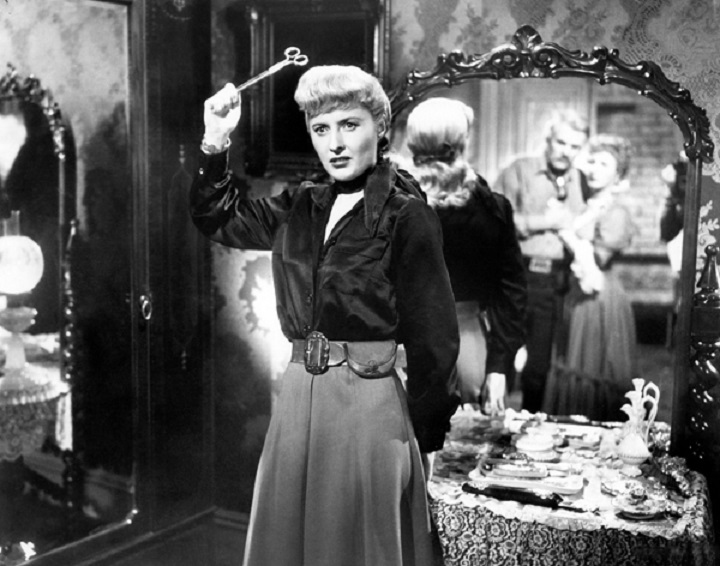 Barbara Stanwyck in Anthony MannÕs THE FURIES (1950). Courtesy Photofest. Playing 7/6